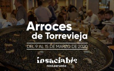 ARROCES DE TORREVIEJA – RESTAURANTE INSACIABLE