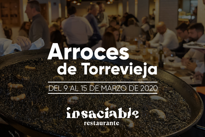 ARROCES DE TORREVIEJA – RESTAURANTE INSACIABLE