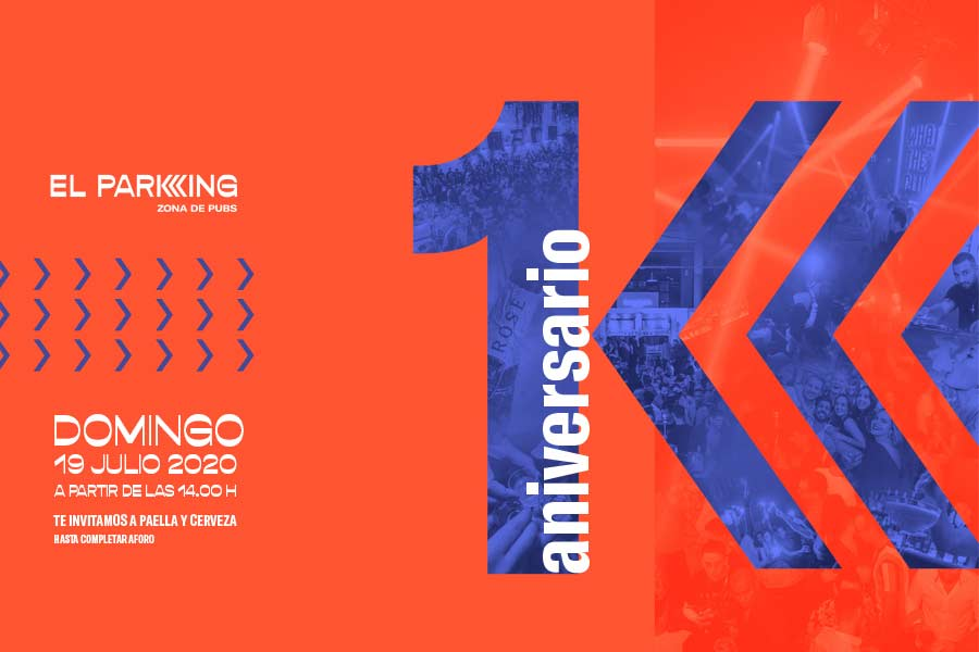 1er ANIVERSARIO EL PARKING
